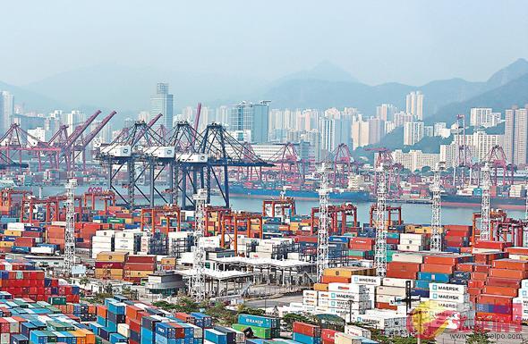 貿發局指香港出口指數首季反彈(文匯報資料圖片)