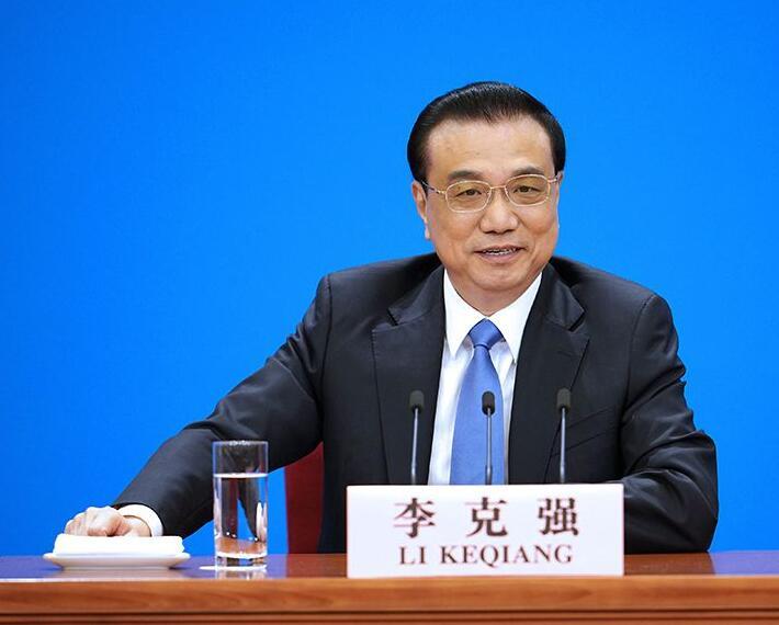 3月15日,國務院總理李克強在北京人民大會堂會見採訪十三屆全國人大二次會議的中外記者並答記者問。