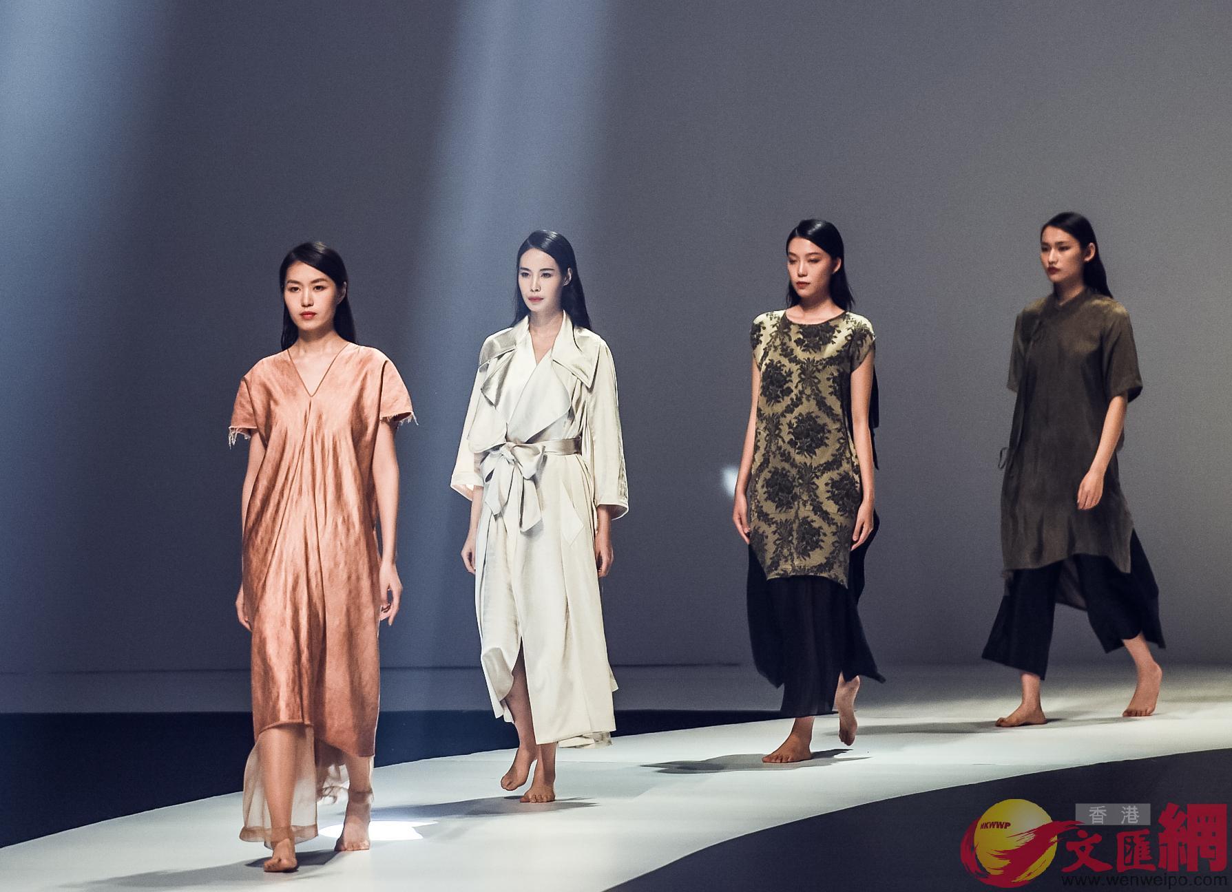 粵港澳大灣區將對標國際其他三大灣區,打造全球時尚中心。(記者 方俊明 攝)