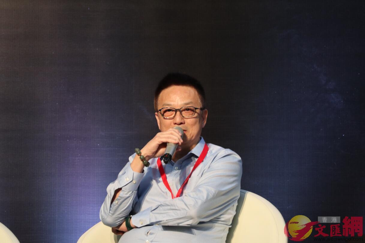 粵港澳大灣區音樂藝術聯盟聯席主席向雪懷(全媒體記者張琦攝)