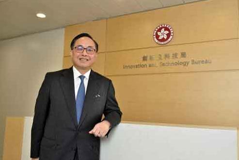 楊偉雄稱國家科技部將與香港聯合推出科技資助計劃(中通社資料圖)