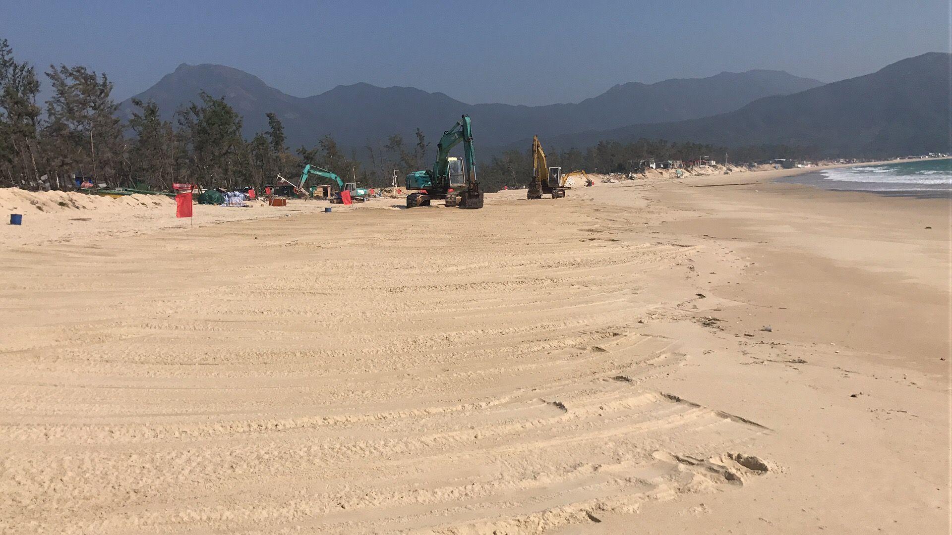 「五一」大鵬西涌沙灘部分解封開放 每日接待遊客12000名