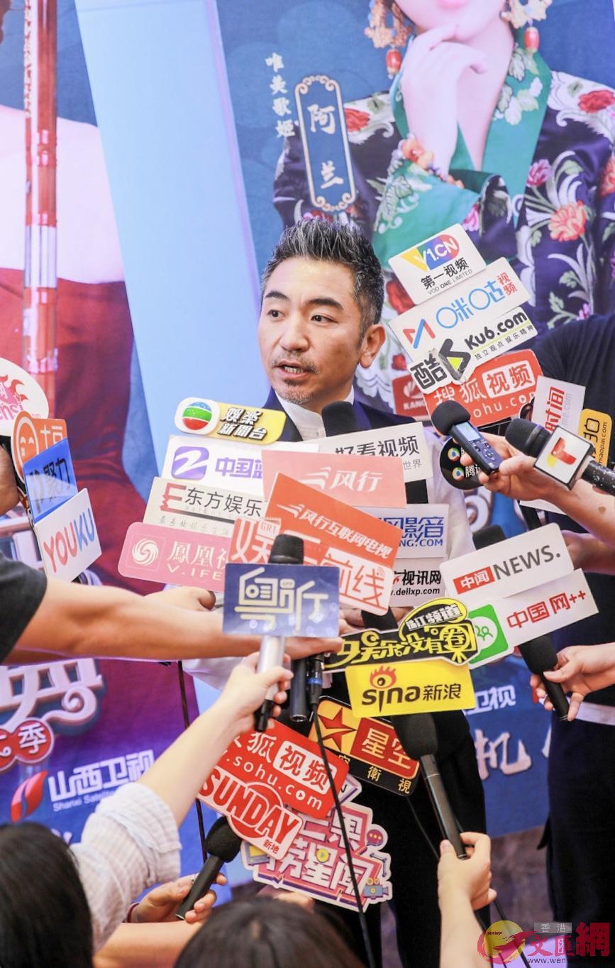 廖永昌希望民樂有更多傳承和創新 胡若璋攝