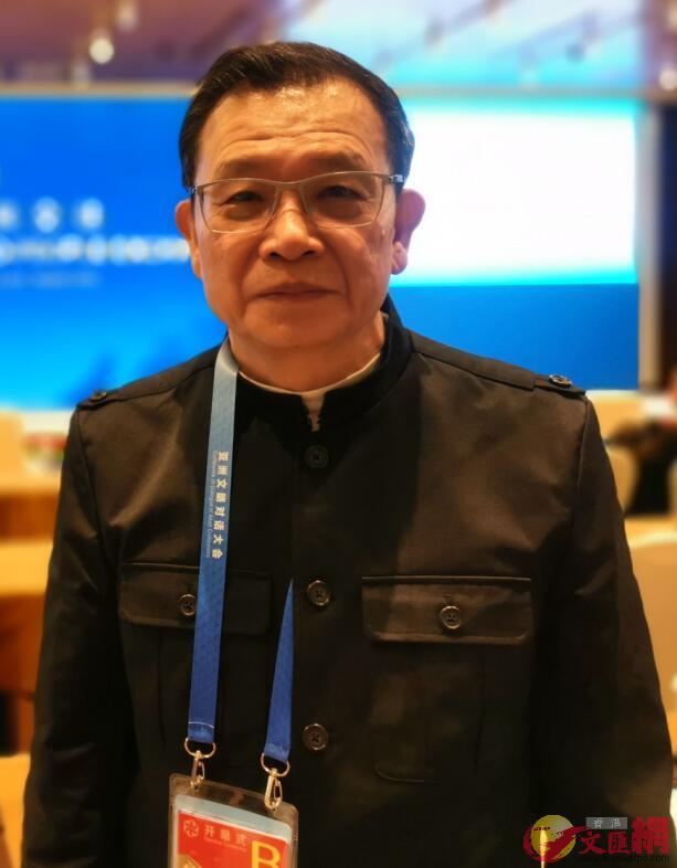 香港作家聯會會長潘耀明。大公文匯全媒體記者江鑫嫻 攝