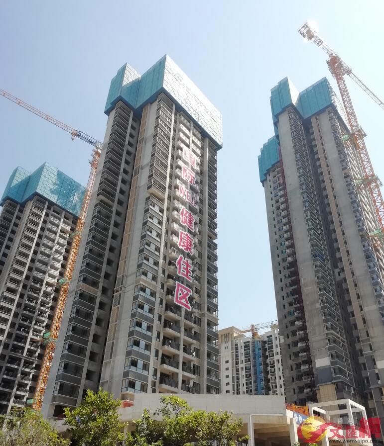 因開發商推盤強勁和購房者積極入市,5月深圳新房成交逾4600套,創近三年新高(記者 李昌鴻 攝)
