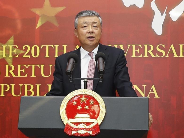 劉曉明敦促英國勿插手香港內部事務(新華社資料圖)
