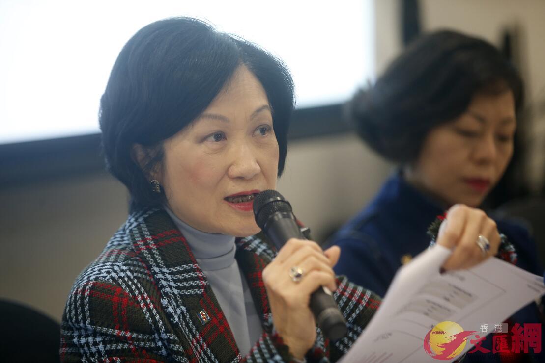 葉劉淑儀表示無必要辭去行會職務(文匯報資料圖片)