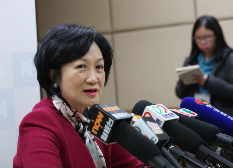 葉劉淑儀表明會繼續留任行政會議(大公報資料圖)