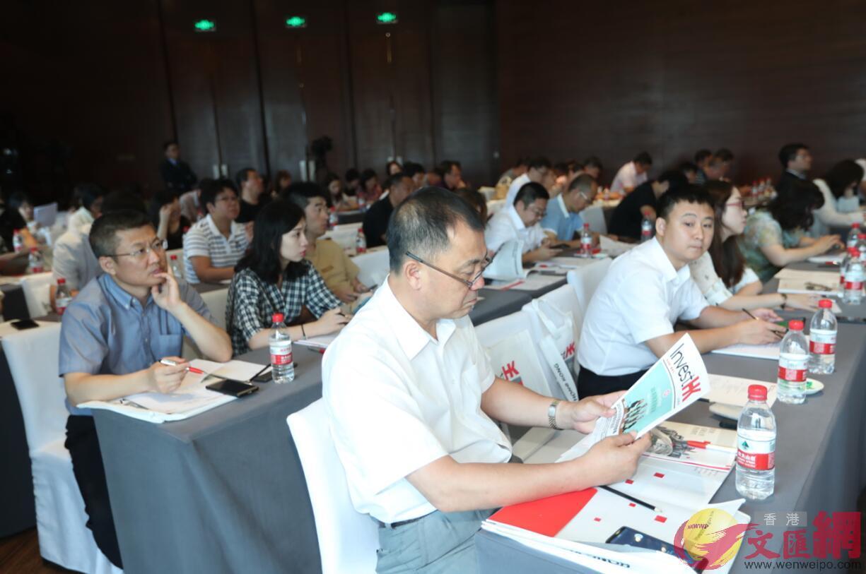 研討會吸引了近百家吉林企業前來「取經」 本網記者盧冶攝