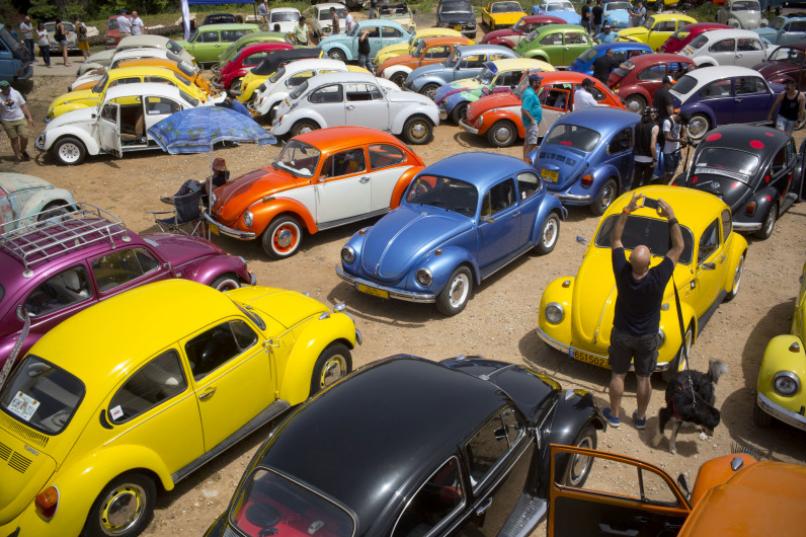 大眾甲殼蟲車見證了汽車業八十年的輝煌(美聯社資料圖)