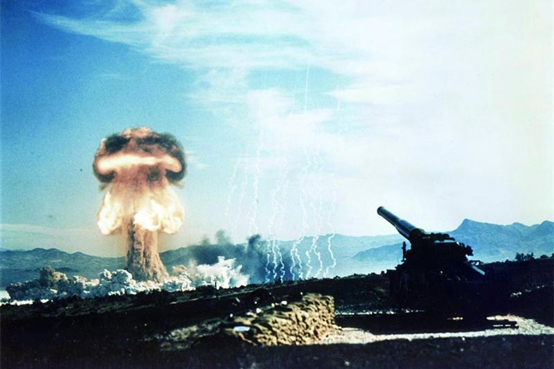 美軍在冷戰初期曾裝備過核大炮。