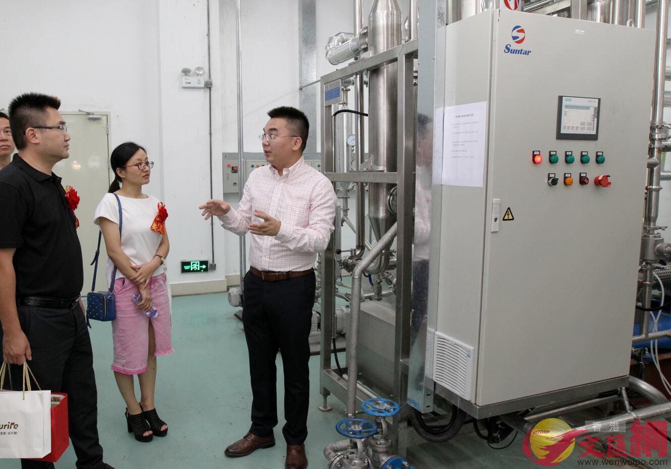 中國首款「低升糖」指數蔗糖研製成功並在珠海實現量產。(方俊明攝)