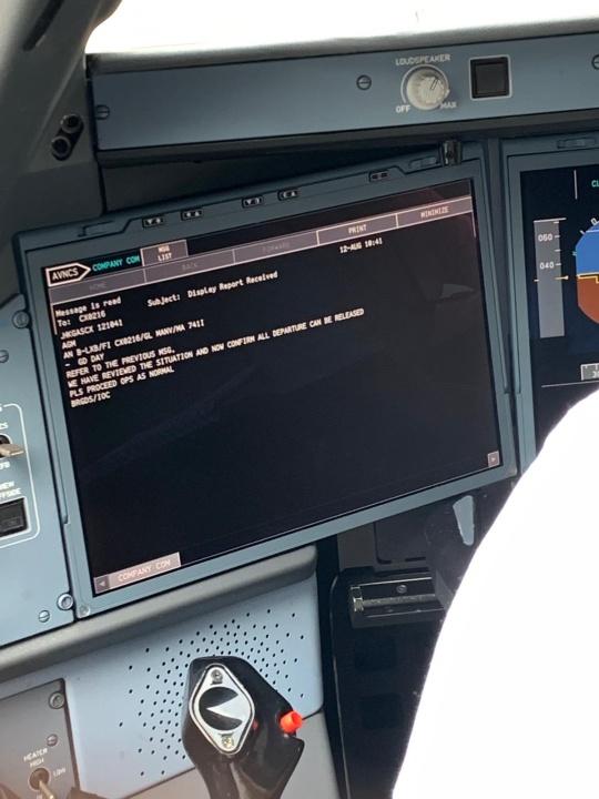 客機駕駛艙相片疑似被曝光