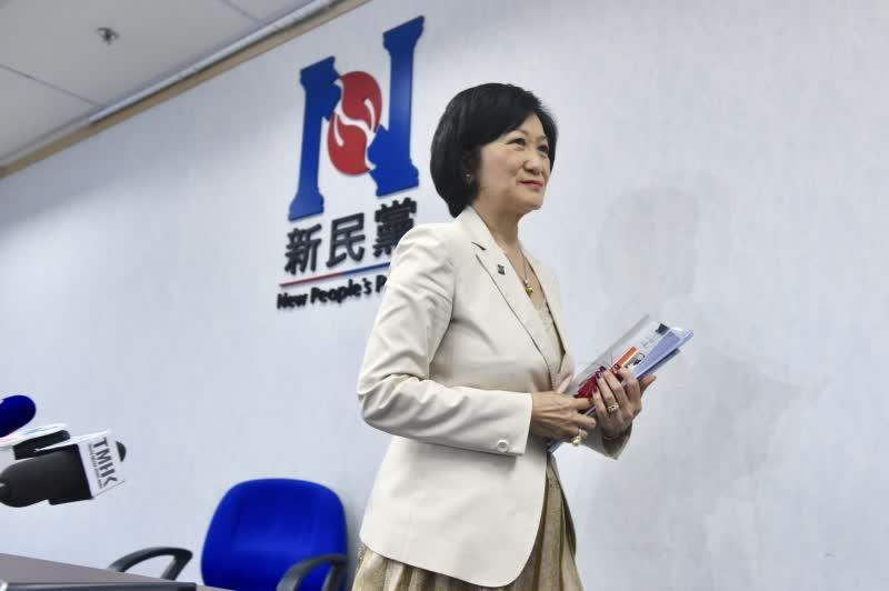新民黨主席葉劉淑儀表示,歡迎特首的4大行動,冀社會放下仇恨重新出發。(中新社資料圖片)