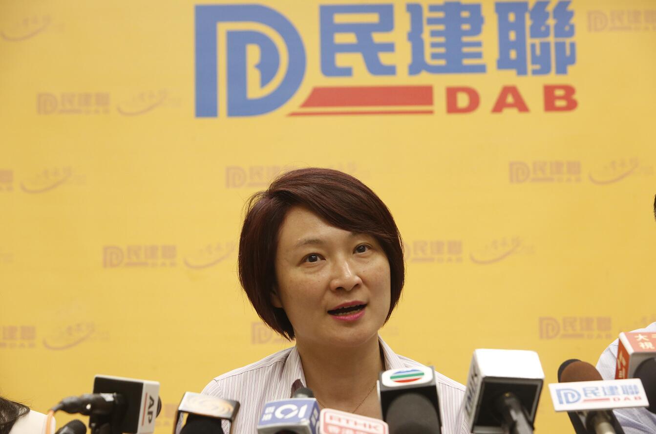 李慧琼表示,要反思年輕人激進是否與香港教育課程有關。(香港文匯報資料圖片)