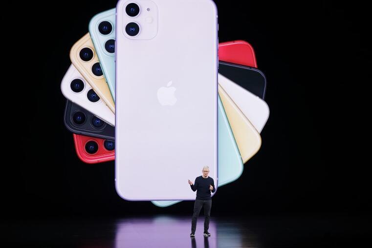 iPhone 11 本周五(13日)開始接受預定(美聯社)