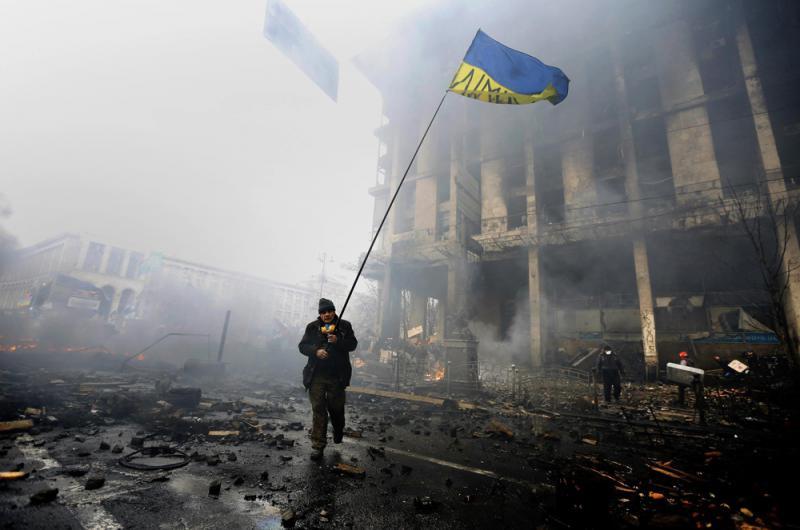 烏克蘭近月爆發顏色革命,索羅斯的伎倆一度得手
