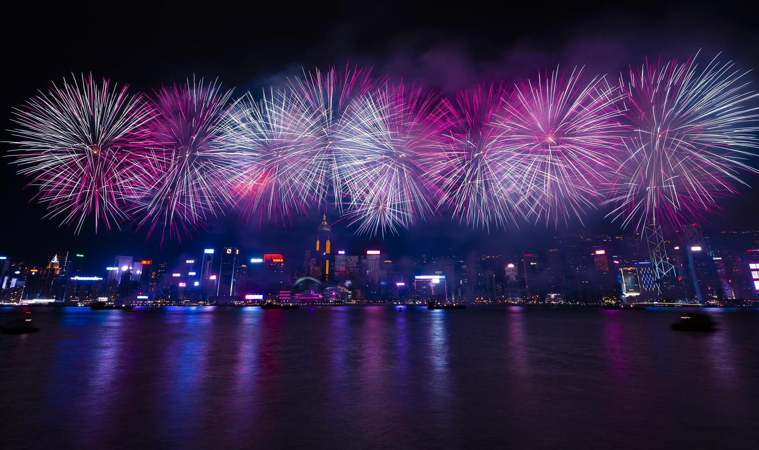 基於公眾安全 香港取消國慶煙花匯演