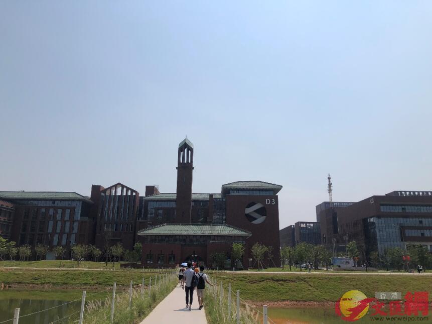 華工國際校區為內地首個街區式高校校園 胡若璋攝