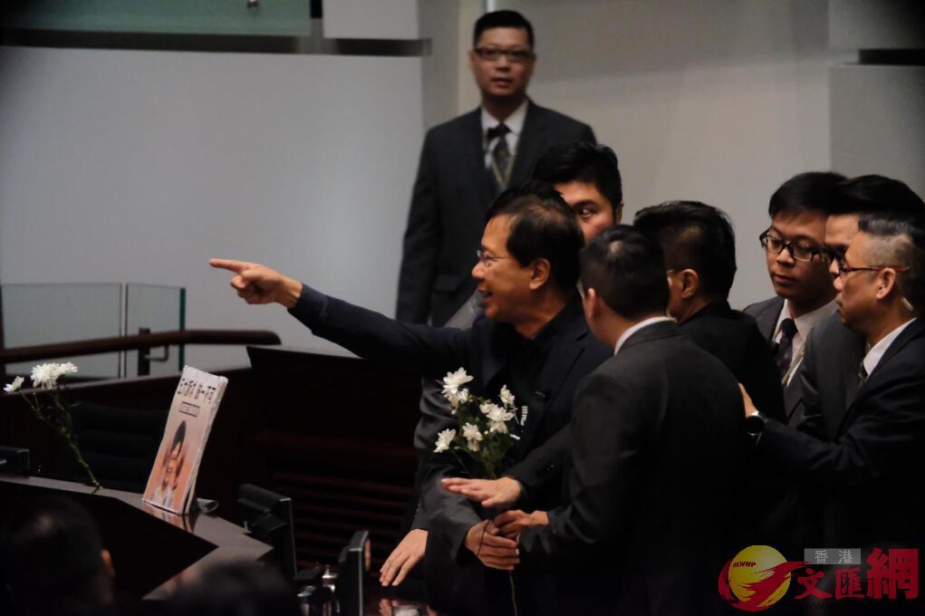 郭家麒被驅逐。