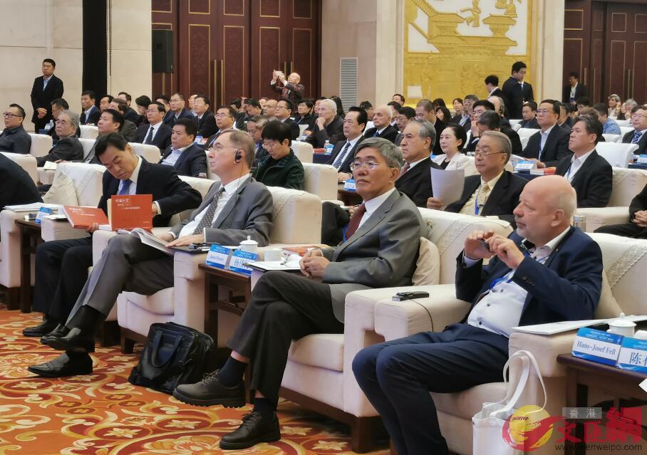 「生態文明範式轉型——中國與世界」國際論壇現場(殷江宏攝)