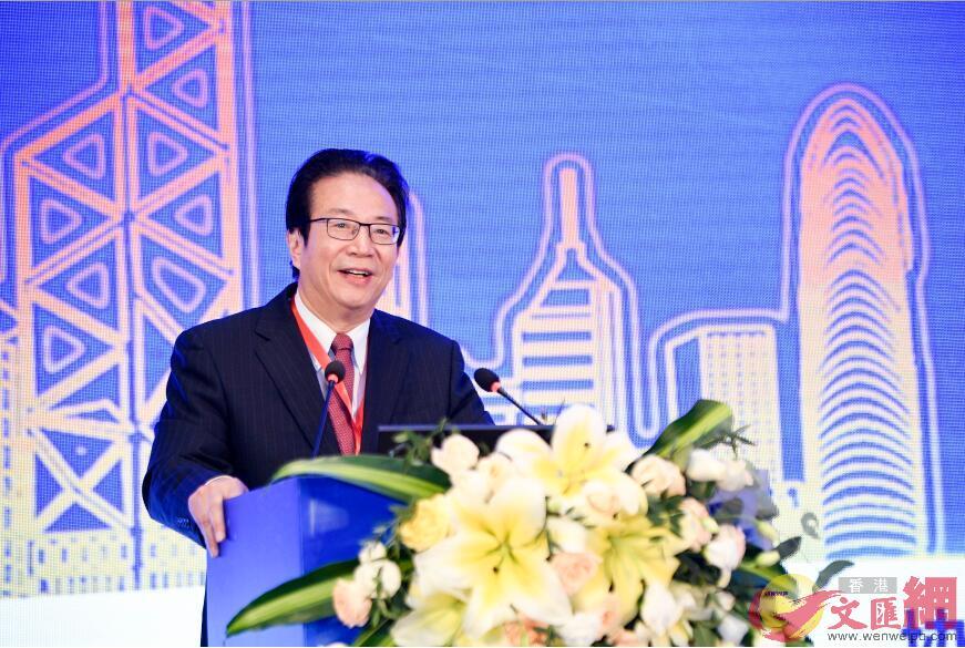 中國銀行業協會專職副會長潘光偉(張聰攝)