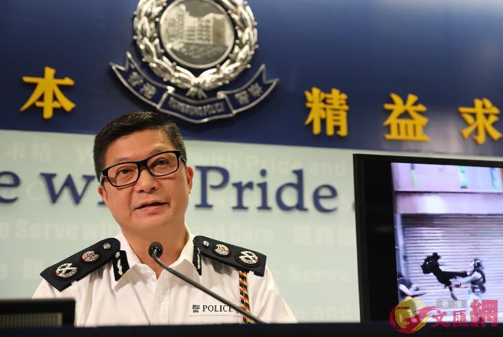 林鄭月娥認為鄧炳強履行可帶領警隊迎接未來挑戰(文匯報資料圖)