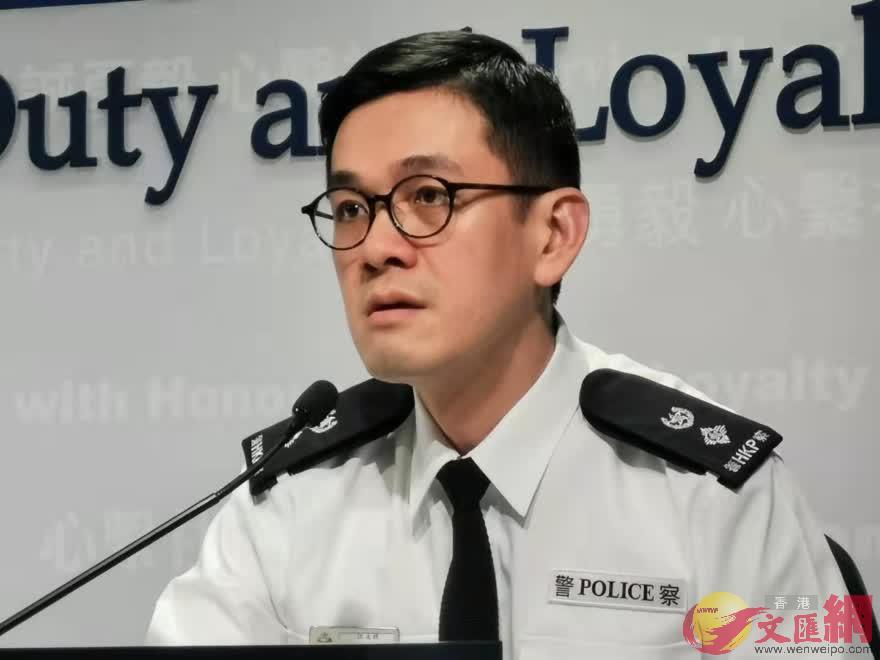 江永祥表示過去周末共拘58人。(大公文匯全媒體記者何燊亮攝)