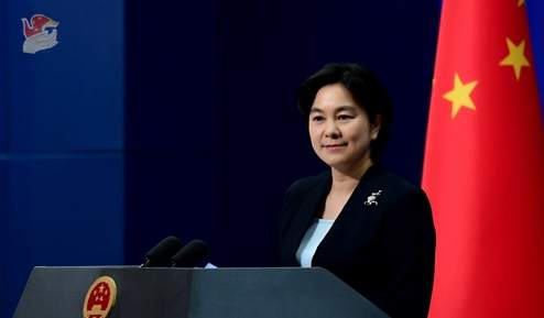 外交部發言人華春瑩(資料圖)