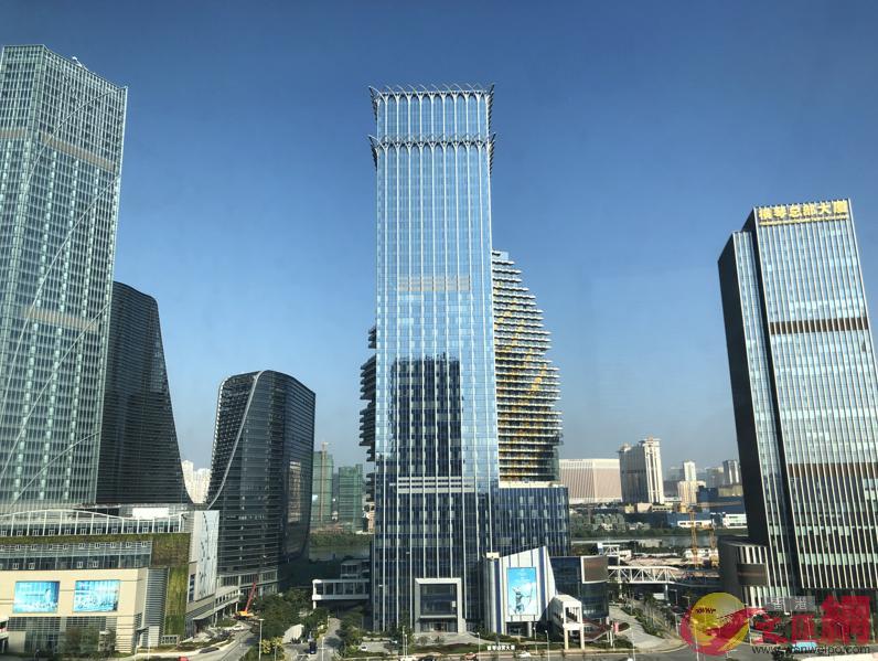 珠海橫琴開放港澳建築專才執業,可進入橫琴直接參與大項目的建設,港澳建築業界多了施展空間。(方俊明攝)