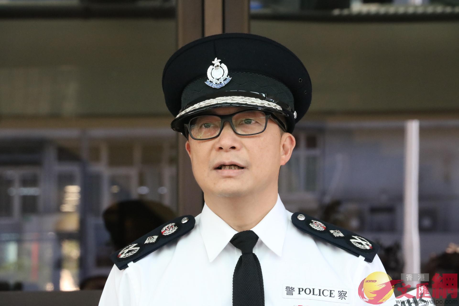 港媒今日報道,警務處處長鄧炳強本周五訪京,料拜訪公安部及港澳辦。(香港文匯報資料圖)