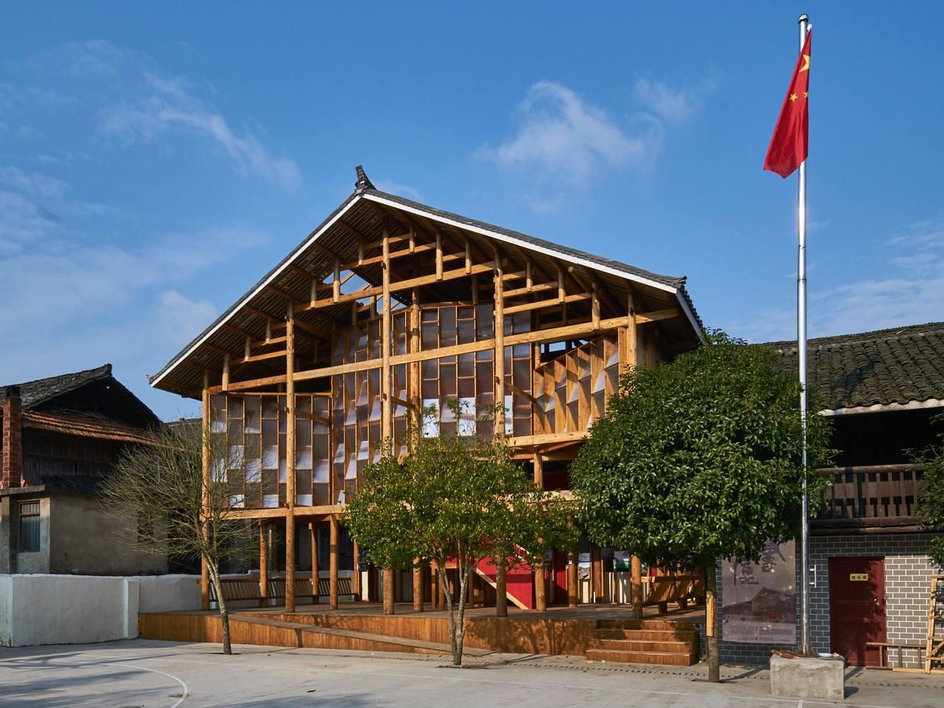 「高步書屋」位於湖南省通道侗族自治縣高步村。