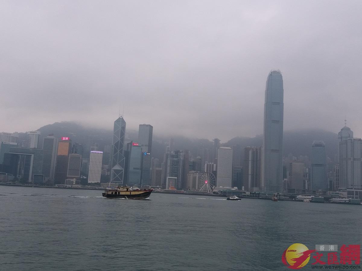 數據反映去年年尾香港GDP下跌約5%。(全媒體資料圖)