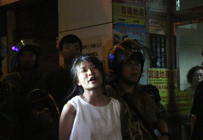 東區區議員仇栩欣涉襲警獲准保釋(大公報資料圖)