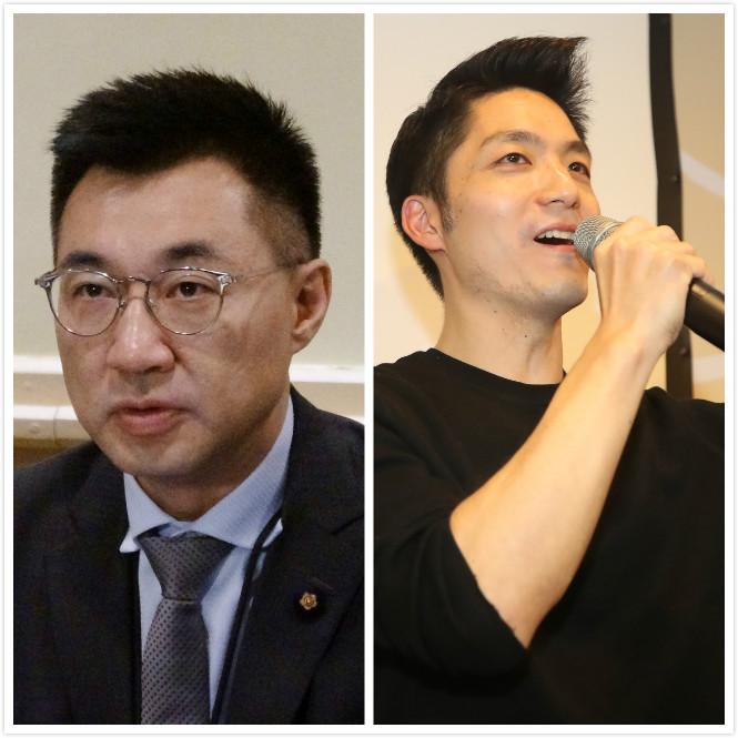 國民黨「立委」江啟臣(左)、蔣萬安(右)均在13日先後宣布辭去中常委職務。(台灣「中央社」圖片)