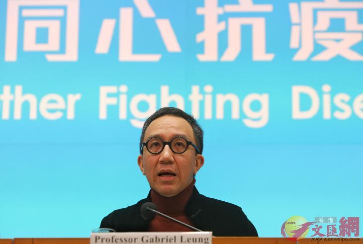 梁卓偉呼籲檢測接觸感染病患的醫護,以防止疫情進一步擴散。(香港文匯網資料圖)