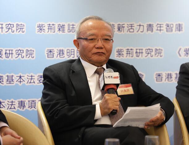 劉兆佳認為外部勢力介入令香港管治形勢更為複雜。(大公報資料圖片)