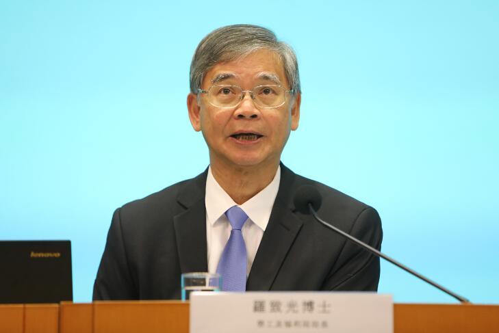羅致光預料香港失業率有可能升至5%。(大公報資料圖片)