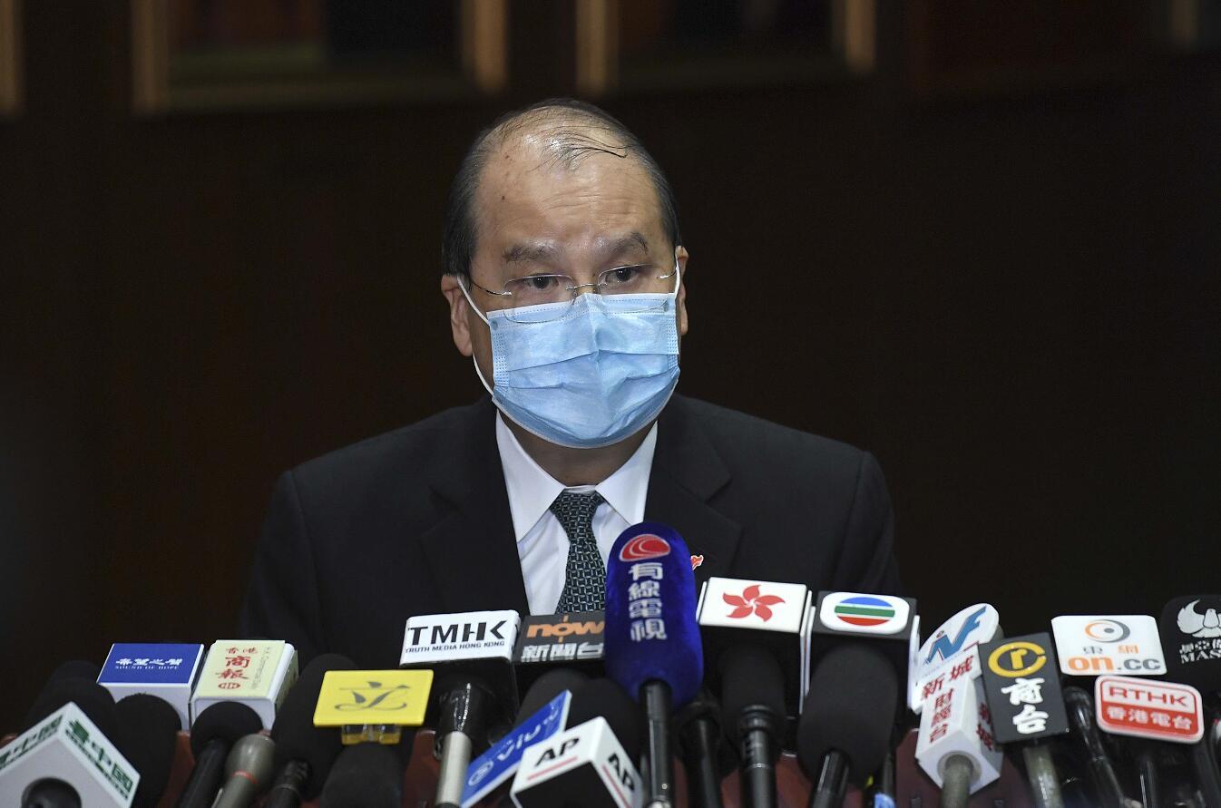 張建宗表示,政府將根據情況再推新惠民措施(網誌圖片)