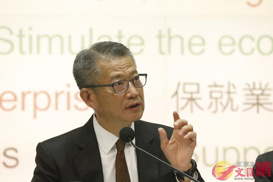圖為陳茂波(資料圖片)