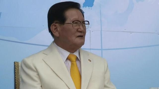 「新天地」教會會長李萬熙(KBS新聞)