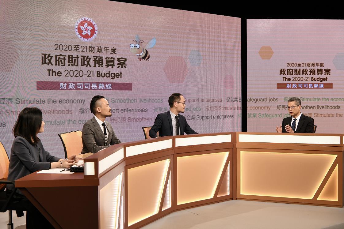 陳茂波指,如何刺激本地消費,增加經濟活力是目前最迫切的工作。