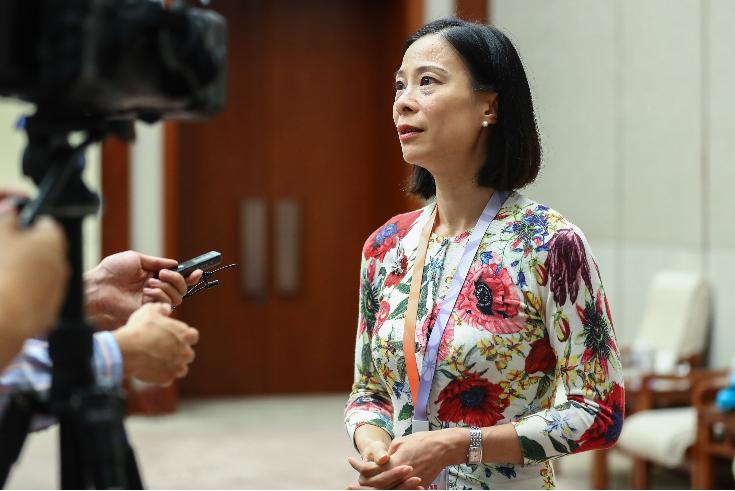 陳曼琪呼籲律政司出手協助律師行業度過難關。(大公報資料圖片)