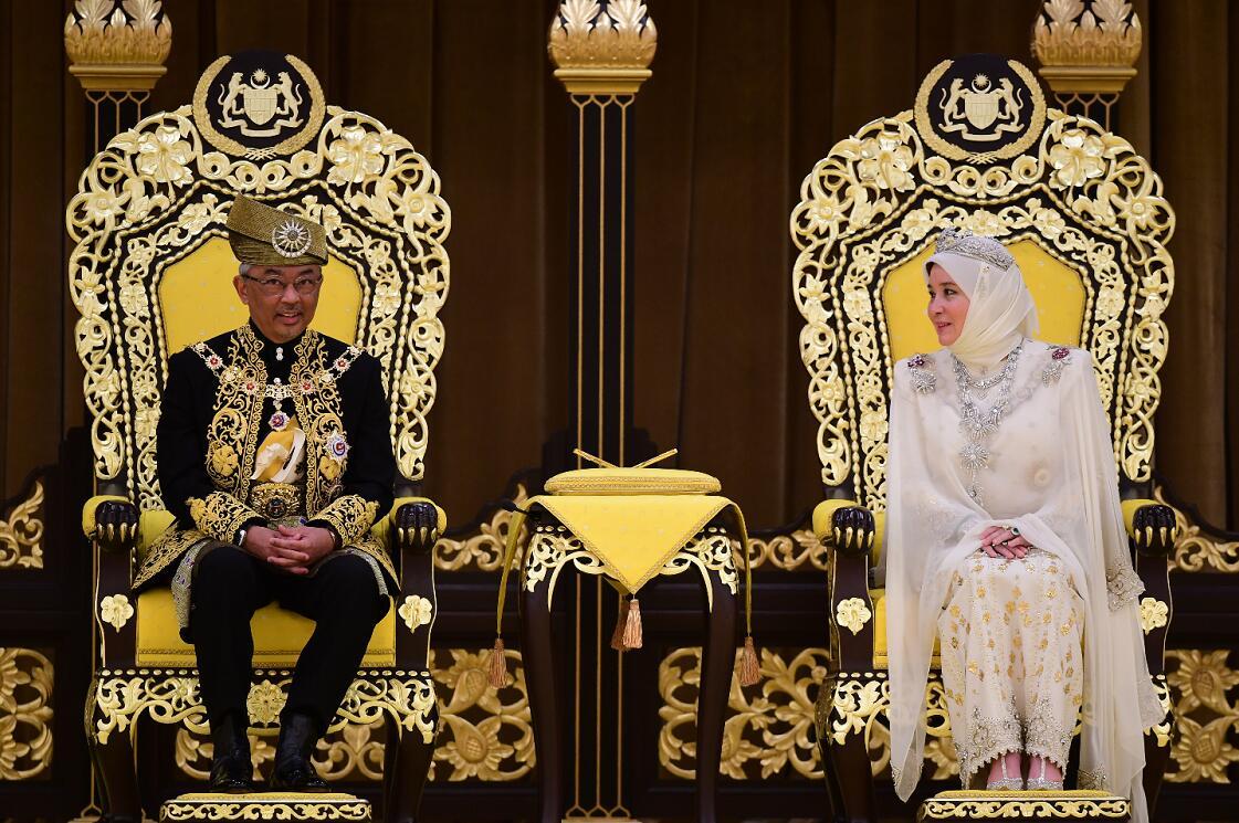 大馬皇宮7名工作人員確診,國家元首阿卜杜拉及夫人需要隔離(新華社資料圖片)
