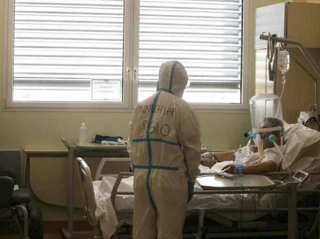 意大利近兩萬人感染新冠肺炎不治。(美聯社資料圖片)