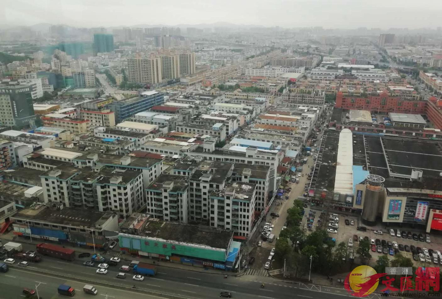 東莞長安大型工業區目前面臨全球疫情導致訂單取消的衝擊(記者 李昌鴻 攝)