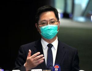 創科局局長薛永恆(香港文匯報資料圖片)