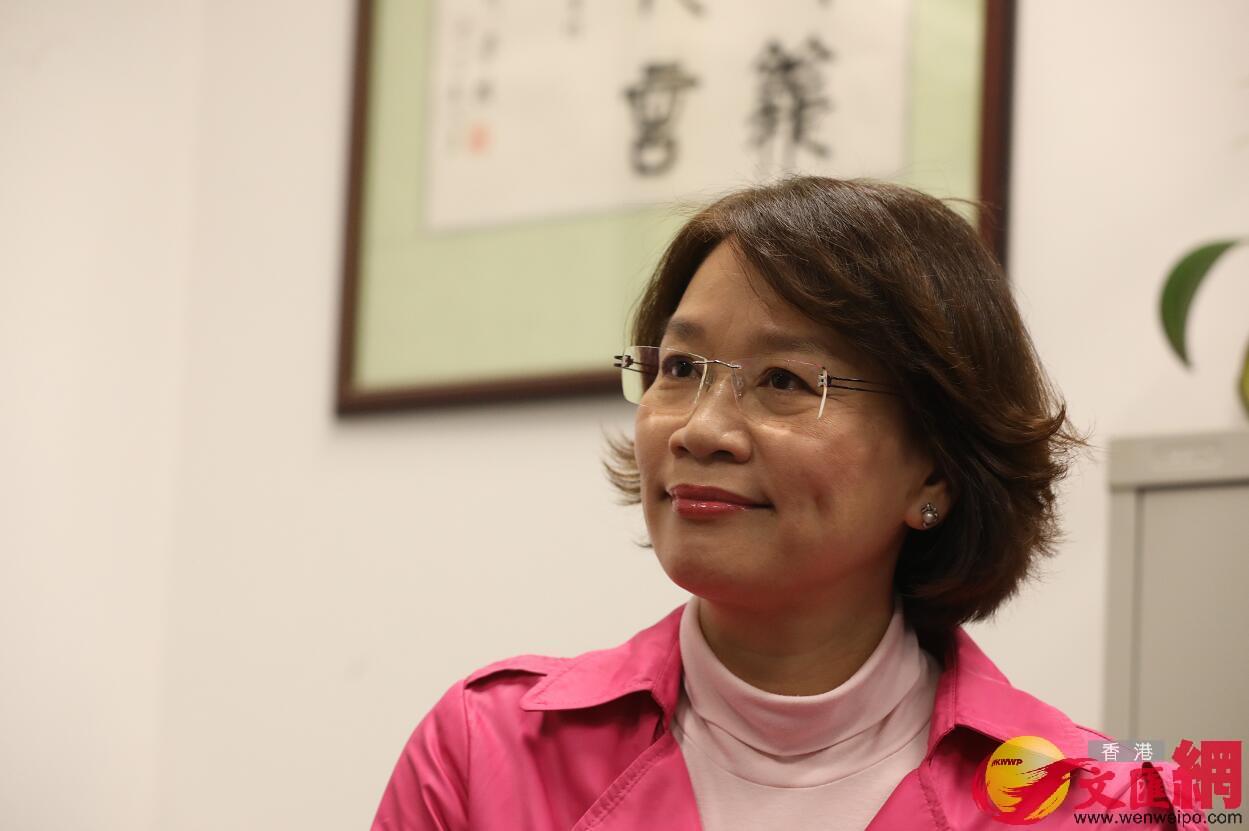 梁美芬指,中央必須果斷出手,防止香港成為國家安全漏洞(文匯報資料圖片)