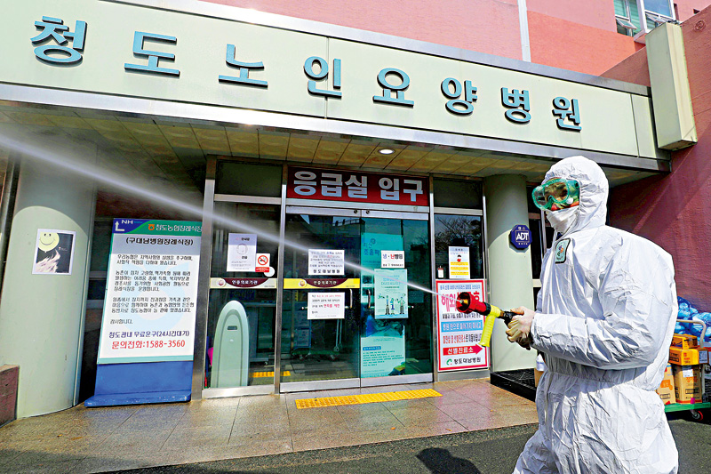 韓國昨增23宗確診,多關2000多間娛樂場所(資料圖片)