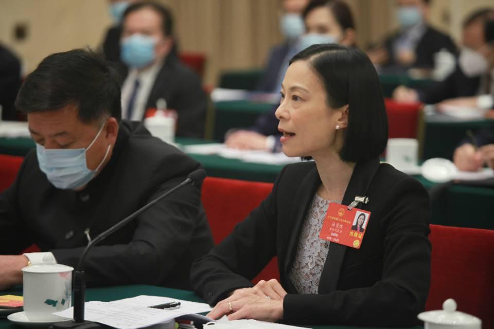 全國人大代表、香港中律協創會會長陳曼琪 (受訪者供圖)